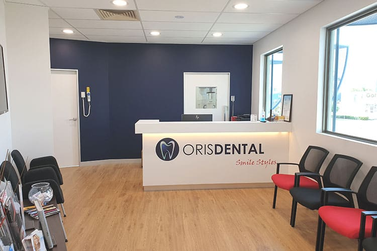 Oris dental - Reception area 01
